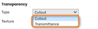 Transparency Options